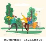 photographer taking shots of... | Shutterstock .eps vector #1628235508