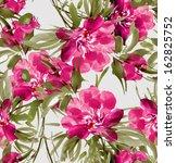 Seamless Pattern Of Flowers 3