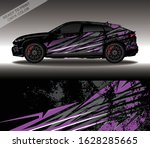 car wrap decal design vector ... | Shutterstock .eps vector #1628285665