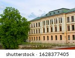 facade of the building of...   Shutterstock . vector #1628377405
