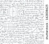 mathematical vector seamless... | Shutterstock .eps vector #162838625