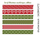 Set Of Vintage Christmas Washi...