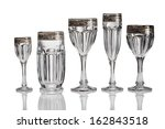 empty glass isolated    Shutterstock . vector #162843518
