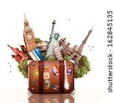 tourism | Shutterstock . vector #162845135