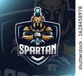 Spartan Warrior Logo Esport...