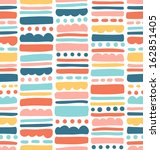 abstract seamless pattern with... | Shutterstock .eps vector #162851405