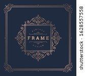 vintage flourishes ornament... | Shutterstock .eps vector #1628557558
