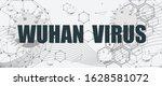 abstract virus image on... | Shutterstock .eps vector #1628581072