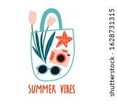 Summer Vibes. Flowers  Glasses  ...