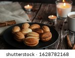 Cookies On A Plate. Russian...