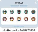 avatars filled icons pack for...