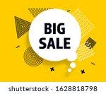 big sale speech bubble banner ... | Shutterstock .eps vector #1628818798