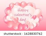 gradient colored heart...   Shutterstock .eps vector #1628830762