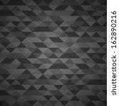 dark grunge retro triangle... | Shutterstock .eps vector #162890216
