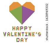 vector illustration origami...   Shutterstock .eps vector #1628969332