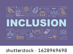 inclusion word concepts banner. ...