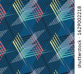 multi color sports textile... | Shutterstock .eps vector #1629002218