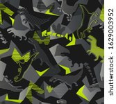 abstract seamless dinosaurus...   Shutterstock .eps vector #1629003952