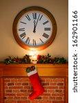 it's just past midnight on... | Shutterstock . vector #162901166
