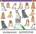 cartoon illustration of finding ... | Shutterstock .eps vector #1629052948