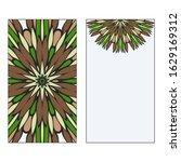 ethnic mandala ornament....   Shutterstock . vector #1629169312
