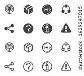 ui ux icon set. basic ui line...