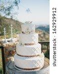 wedding cake | Shutterstock . vector #162929912