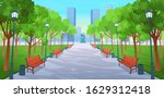 panorama road over the summer ... | Shutterstock .eps vector #1629312418