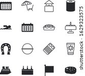 holiday vector icon set such as ...   Shutterstock .eps vector #1629323575
