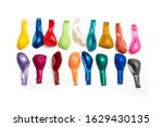 multi colored non inflated...   Shutterstock . vector #1629430135