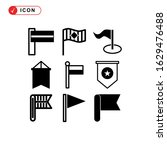 pennants icon or logo isolated...