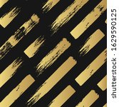 seamless pattern with golden... | Shutterstock .eps vector #1629590125