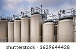 Large Steel Tanks In The...