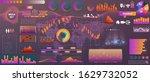 vector  hud big set of elements ...