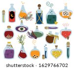 vector collection of magical... | Shutterstock .eps vector #1629766702