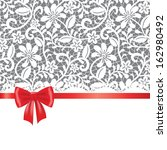 vector template for wedding ... | Shutterstock .eps vector #162980492