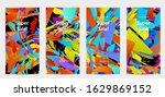 abstract social media template... | Shutterstock .eps vector #1629869152