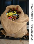 Burlap Sack Filled With Gifts...