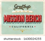 vintage touristic greeting card.... | Shutterstock .eps vector #1630024255
