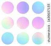 circle holographic gradients...