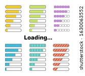 colorful loading or progress...