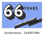 60,60th,66,66th,anniversary,banner,birth,birthday,card,celebrate,celebration,decoration,design,flat,frame