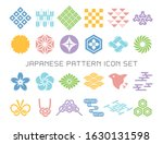 japanese traditional pattern... | Shutterstock .eps vector #1630131598
