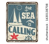 The Sea Is Calling Vintage...
