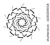 kaleidoscopic mandalas are... | Shutterstock .eps vector #1630204018