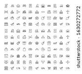 commerce line icon set.... | Shutterstock .eps vector #1630272772