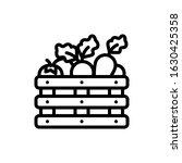 spring  vegetables harvest...   Shutterstock .eps vector #1630425358