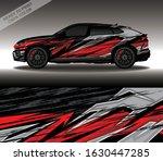 car wrap decal design vector ...   Shutterstock .eps vector #1630447285