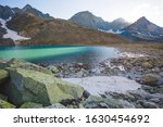 turquoise water of upper akchan ... | Shutterstock . vector #1630454692