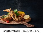 Small photo of Lobster Thermidor - creamy and nutty lobster